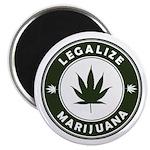 Legalize Marijuana Magnet
