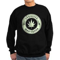 Legalize Marijuana Sweatshirt (dark)