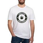 Legalize Marijuana Fitted T-Shirt