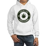 Legalize Marijuana Hooded Sweatshirt