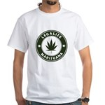 Legalize Marijuana White T-Shirt