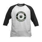 Legalize Marijuana Kids Baseball Jersey