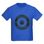 Legalize Marijuana Kids Dark T-Shirt