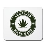 Legalize Marijuana Mousepad