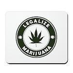 Legalize Marijuana Mousepad