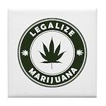 Legalize Marijuana Tile Coaster