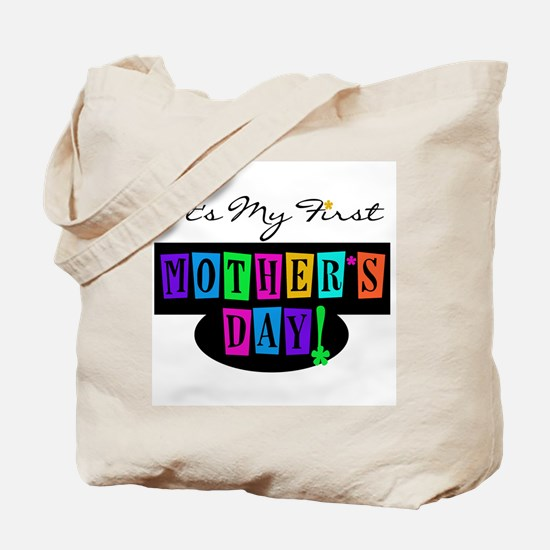 My First Mother's Day Tote Bag