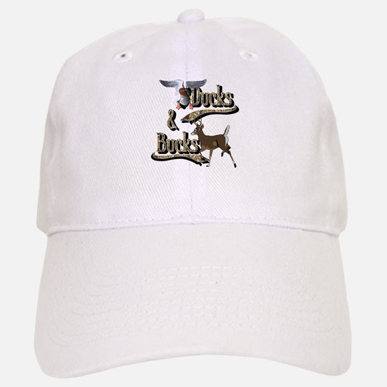 Ducks And Bucks Baseball Baseball Cap