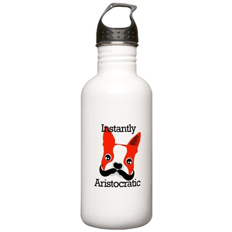 Boston Terrier Stainless Water Bottle 1.0L
