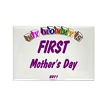 Mommy's First Rectangle Magnet (10 pack)