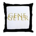 Gene Geter Throw Pillow
