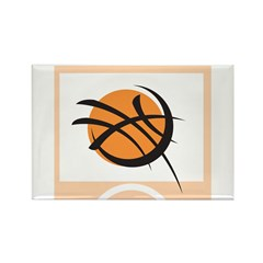 Take it to the net Rectangle Magnet (10 pack)