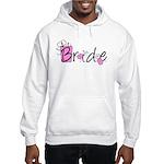 Pink Lady Bride Hooded Sweatshirt
