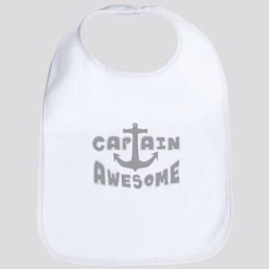Captain Awesome Anchor Bib
