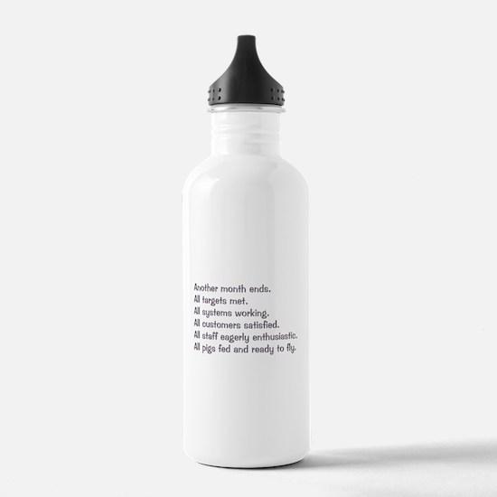 All Targets Met Water Bottle