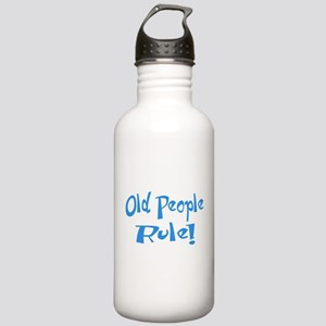 Old People Rule! Stainless Water Bottle 1.0L