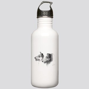 Rough & Smooth Collies Stainless Water Bottle