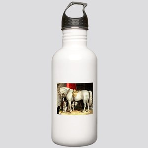 White Horse Stainless Water Bottle 1.0L