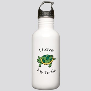 I Love my Turtle Stainless Water Bottle 1.0L