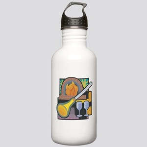 Glass Blowing Stainless Water Bottle 1.0L