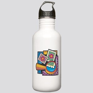 Stamp Collector Stainless Water Bottle 1.0L