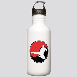 Martial Arts Yin Yang Stainless Water Bottle 1.0L