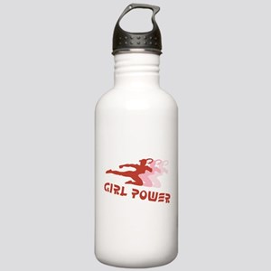 Martial Arts Girl Power Stainless Water Bottle 1.0
