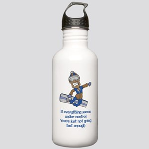 Not Going Fast Enough Stainless Water Bottle 1.0L