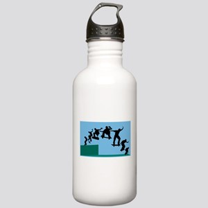 Skateboard Evolution Stainless Water Bottle 1.0L