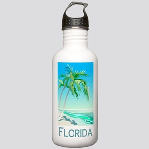 Florida Palms Stainless Water Bottle 1.0L