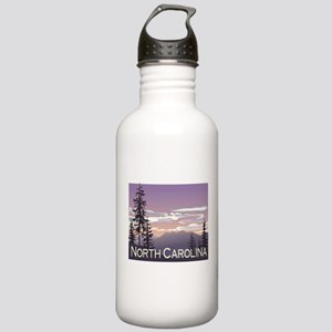 North Carolina Mountains Stainless Water Bottle 1.
