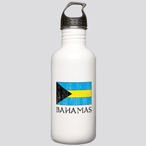 Bahamas Flag Stainless Water Bottle 1.0L