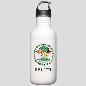 Belize Coat of Arms Stainless Water Bottle 1.0L