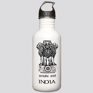 Emblem of India Stainless Water Bottle 1.0L