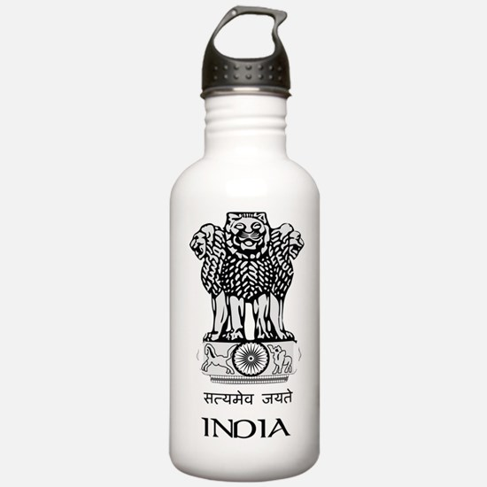 Emblem of India Water Bottle