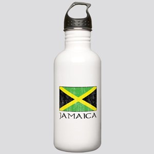Jamaica Flag Stainless Water Bottle 1.0L