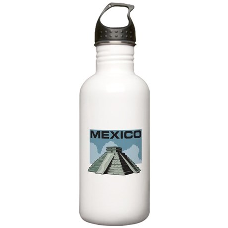Mexico Pyramid Stainless Water Bottle 1.0L