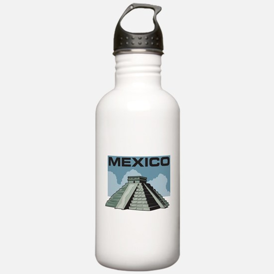 Mexico Pyramid Water Bottle