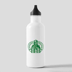 Amsterdam Passport Stamp Stainless Water Bottle 1.