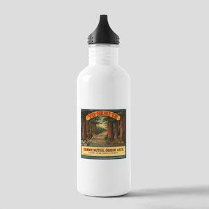 Yosemite Fruit Crate Label Stainless Water Bottle