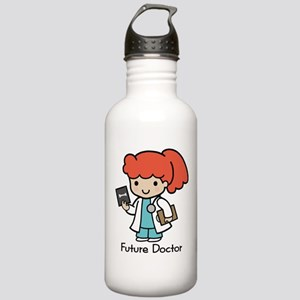 Future Doctor - girl Stainless Water Bottle 1.0L