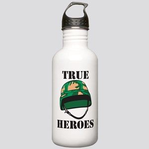 True Heros - the Marines Stainless Water Bottle 1.