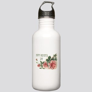 Mother's Day Roses Stainless Water Bottle 1.0L