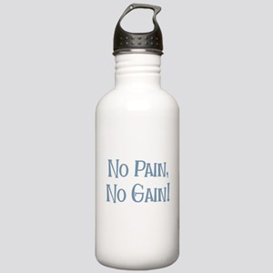 No Pain No Gain Stainless Water Bottle 1.0L