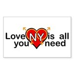 LGBT Marriage Sticker (Rectangle 50 pk)
