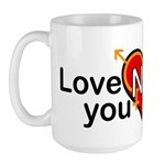 LGBT Marriage Large Mug