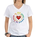 LGBT Marriage Women's V-Neck T-Shirt