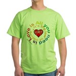 LGBT Marriage Green T-Shirt