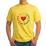 LGBT Marriage Yellow T-Shirt