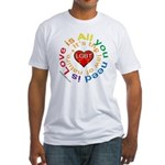 LGBT Marriage Fitted T-Shirt